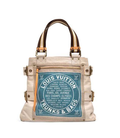 Tote Shopper Bag Denim Tote Bag Original a globe shopper cabas blue toile trunk bag denim pm tote lo