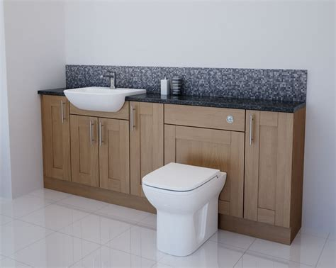 oak bathroom furniture oak bathroom furniture light oak bathroom fitted