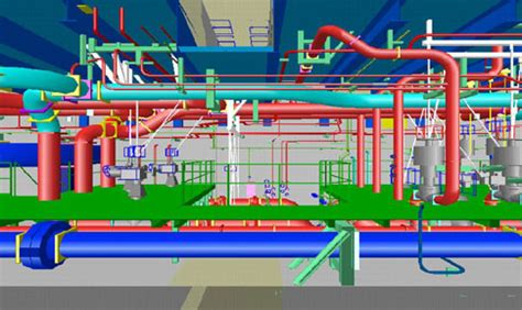 foundation layout laser using laser radar to improve production in pipe spool