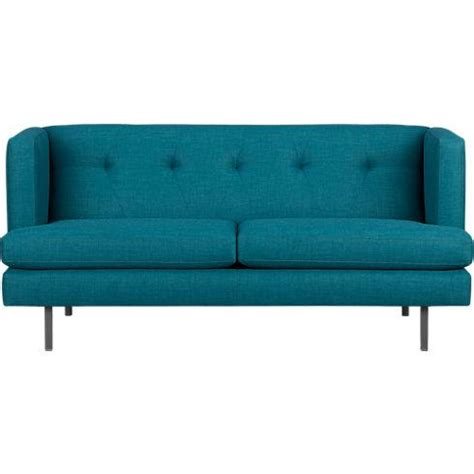 cb2 peacock sofa avec peacock apartment sofa cb2