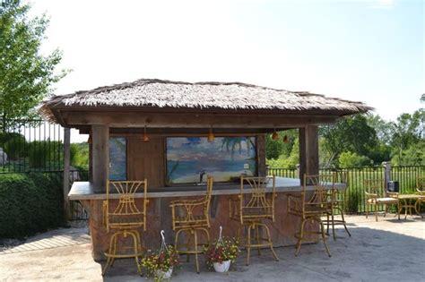 tiki bar outdoor patio bars tiki bars and pool houses