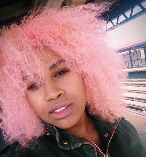 Pink And Black Hairstyles by These All But Beautiful Colored