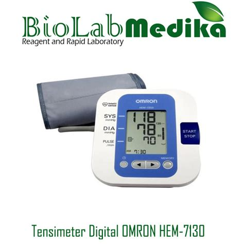 tensimeter digital omron hem 7130 biolab medika