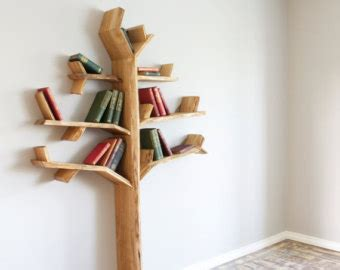 tree bookshelf on etsy a global handmade and vintage