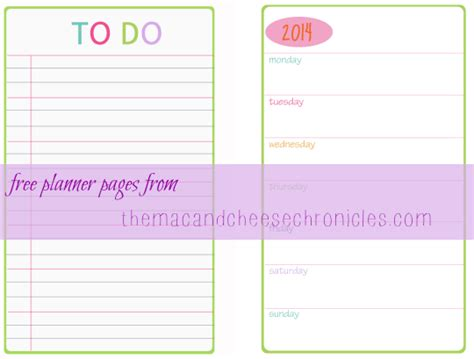printable day planner pages 2014 8 best images of free weekly planner printable 2014 free