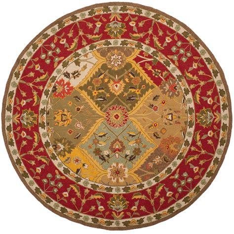 safavieh rag rug multi 6 ft x 6 ft area rug