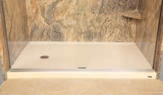 5 Foot Shower Base by Shower Bases The Refreshing Remodelbathroom Remodeling