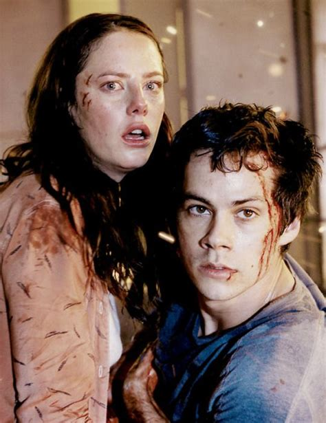 actor maze runner the death cure maze runner the death cure thomas and teresa thomesa
