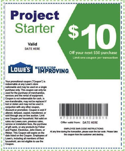 lowes coupons printable 2017 my
