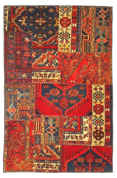 Patchwork Rugs - rugs collage by nishaburi ethnic patchwork rugs