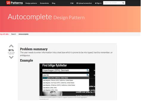 uxpin pattern library how to use the best ui design patterns