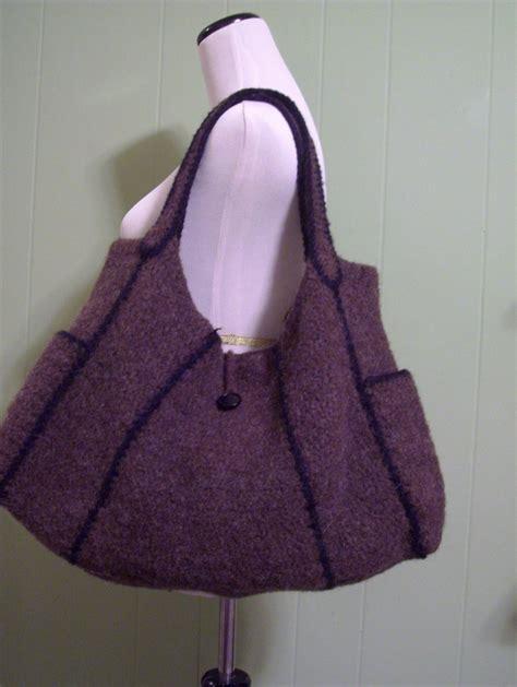 Felt Handbag Pattern | pattern chika modular felted bag pattern photo tutorial