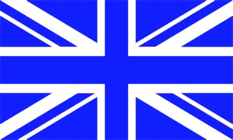 Pewarna Three Flags Brand Blue great britain royal blue white union large country flag 5 x 3