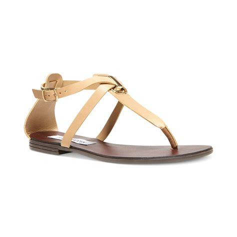 Steve Madden Sandals by Lyst Steve Madden Kween Flat Sandals In