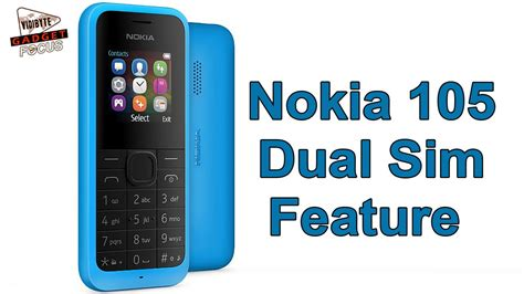 Nokia Senter Dual Sim nokia 105 dual sim feature phone launched priced at rs