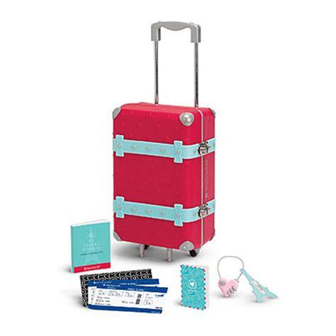 american le graces travel set for 18 quot dolls passport