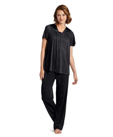 Vanity Fair Sleeve Pajamas by Vanity Fair Colortura Sleepwear S Plus Sizes