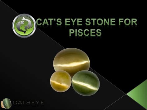 cats eye gemstone for pisces