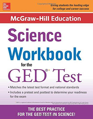 ged test sections mcgraw hill education science workbook for the ged test