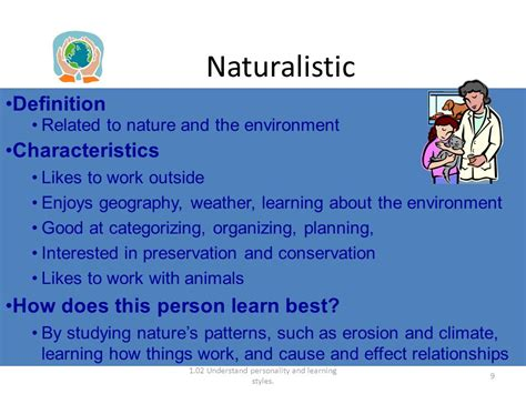 naturalistic pattern definition 8 learning styles ppt download