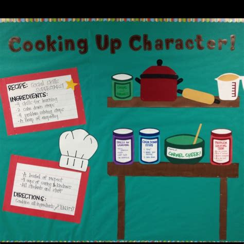 cooking board 25 best ideas about character bulletin boards on inspirational bulletin boards