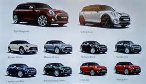mini colors 2016 mini clubman preview cleanmpg