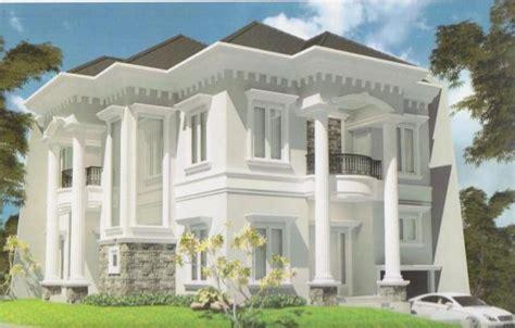design eksterior eropa contoh model rumah tingkat terbaru 3 desain gambar rumah
