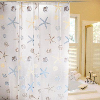 seashore themed shower curtains beach shower curtain beach themed bathroom pinterest
