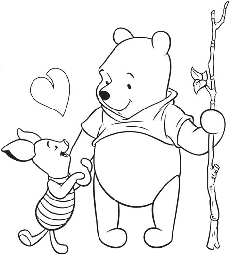 winnie pooh coloring pages games free coloring pages of piglet from winnie the pooh