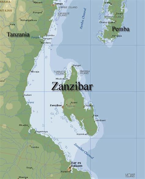 zanzibar map the world s shortest war now i