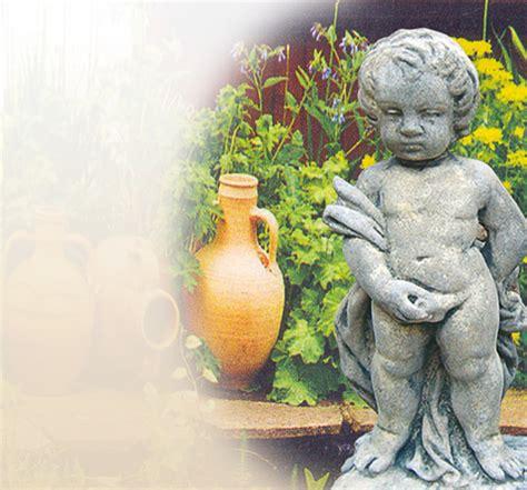 gartenshop bestellen stilvolle skulptur garten sandstein stein