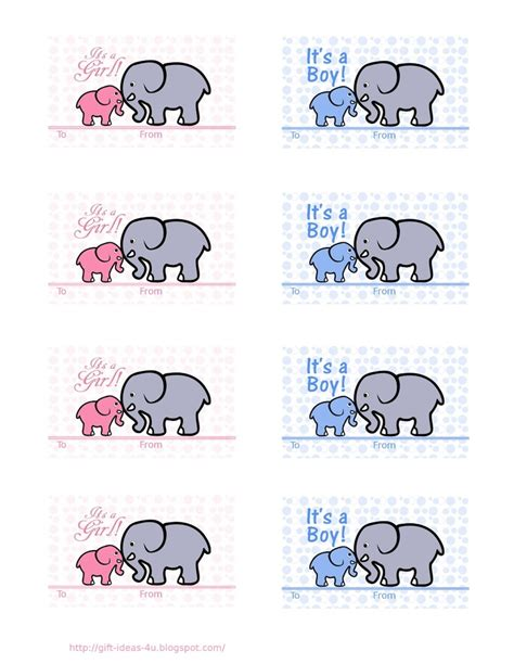 Free Printable Baby Shower Gift Tags by Free Printable Baby Shower Gift Tags Two Designs