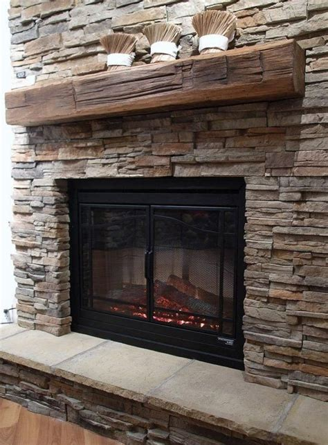 wood mantels replace with reclaimed wood mantel for the