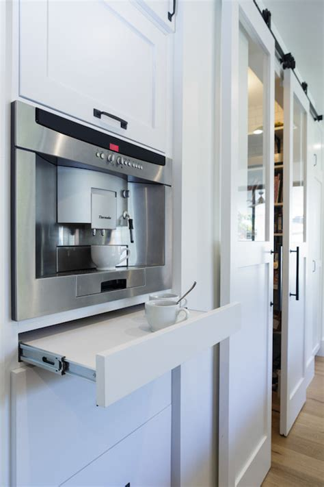 Coffee Machines Built In To Kitchens built in coffee machine design ideas