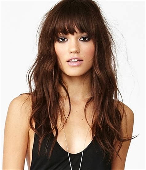 i want to see some hairstyle love long hairstyles with fringe wanna give your hair a