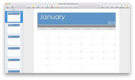Calendar Template For Mac Pages 2015 How To Make A Calendar Template In Excel Makeuseof Ebook