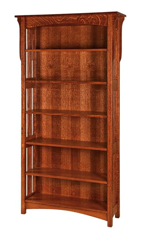 amish lancaster mission open bookcase