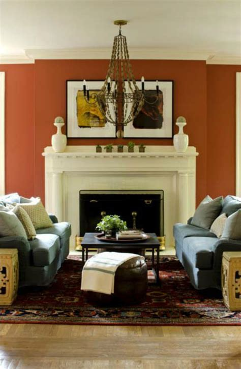 burnt orange living room accessories burnt orange wall enough for us decorology summer living room d 233 cor ideas i d