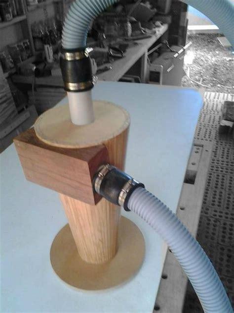 wooden cyclone seperator shop vac dust control shop