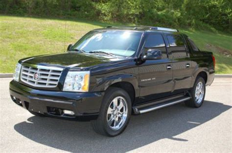 2003 Cadillac Truck by Purchase Used 2003 Cadillac Escalade Ext Awd Truck