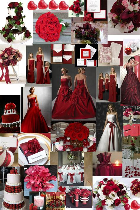 winter wedding theme burgundy