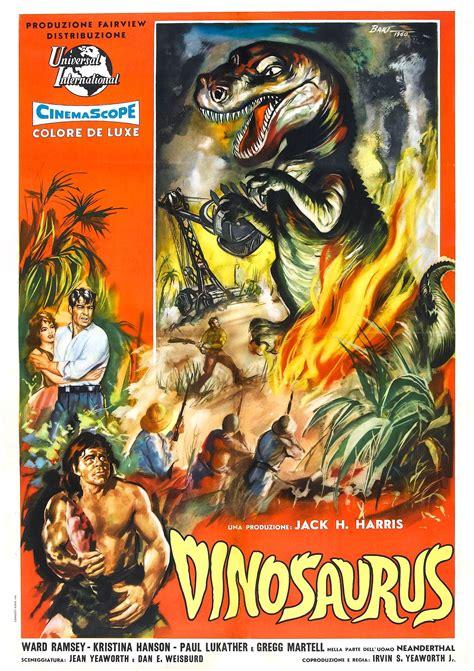 film dinosaurus online poster for dinosaurus 1960 usa wrong side of the art