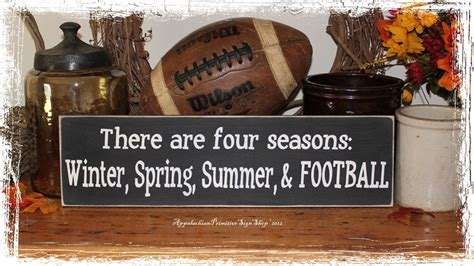 sports home decor there are four seasons winter spring summer and