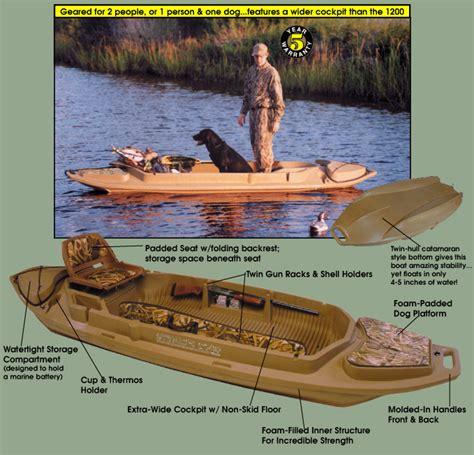 stealth 2000 duck boat motor mount otter stealth