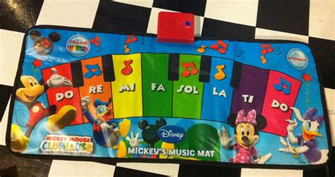 Disney Michy Mouse Musical Mat - disney mickey mouse clubhouse mickey s mat great