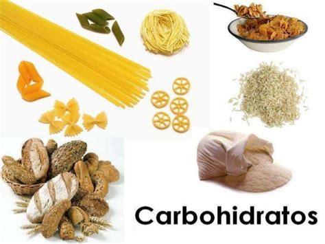 proteinas y carbohidratos carbohidratos