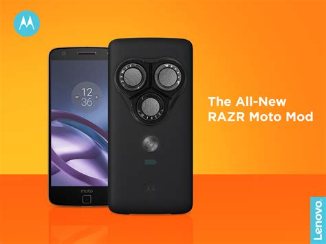 Moto Mods motorola announces non irritable customisable and