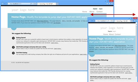 asp net mvc templates asp net mvc 4 fundamentals microsoft docs