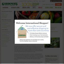 Gardeners Supply Kitchen Garden Planner 2 Planning The Garden Pearltrees