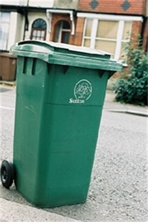 xmas bin collections and xmas tree collection carshalton